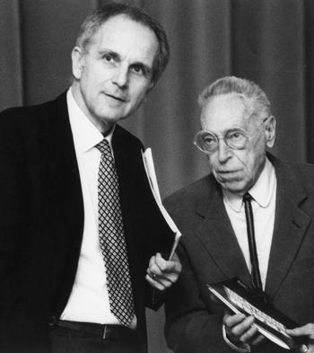 Achille Castiglioni e Gianfranco Cavaglià