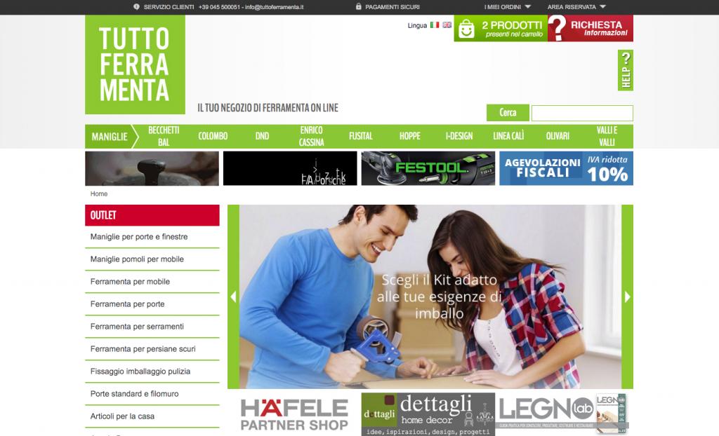 Tuttoferramenta Home Page